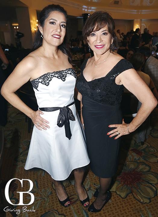 Sara Salas Hice and Mayor Mary Casillas Salas