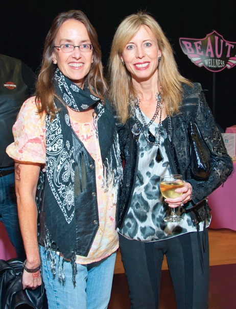 Sarah White and Laurie Mitchell