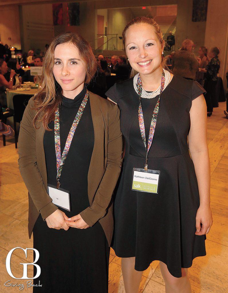 Sarah Burnett and Kathleen DelGiorno