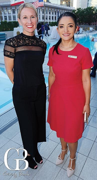 Sarah Gunter and Lorena Ramirez