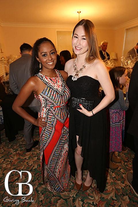 Sarah Mammen and Crystal Lai