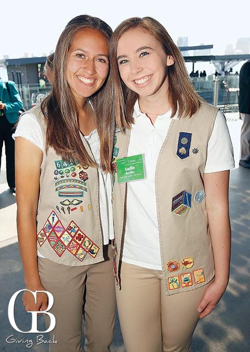Sarah Mauricio and Sadie Neville