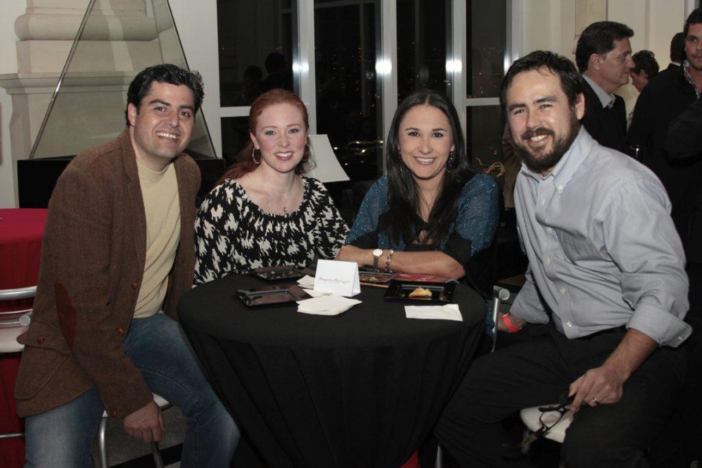 Sarkis Padres, Marisol Medrano, Ana Rosa Flores y Gustavo Pena