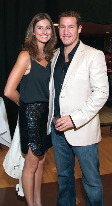 Sasha Clines and Bryan Sandler +