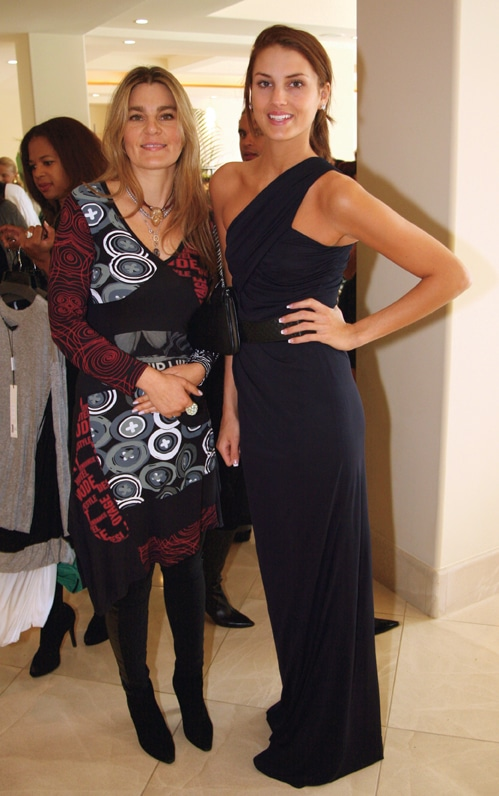 Sasha Lowther and Geena Restaino.JPG