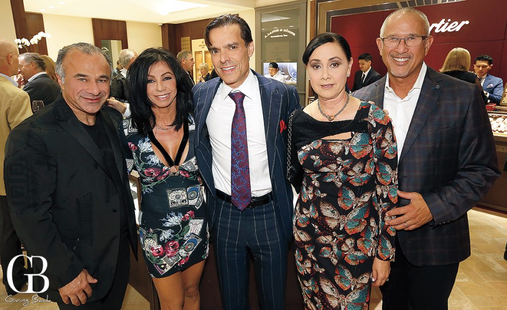 Sassan and Sandra Alavi  Vahid Moradi  Jeanne Davis and Dan Gonsales