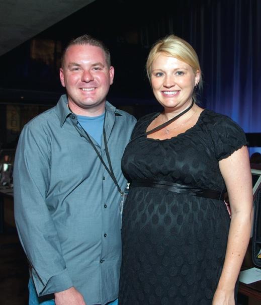 Scott Cottinghim and Heather Clark