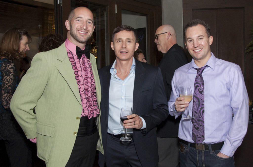 Scott Pain, Sebastian Louberts and Vincent Pompei