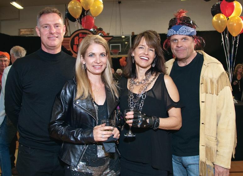 Scott Peters, Nathalie Riis, Lynn Gorguze and Bill Evans