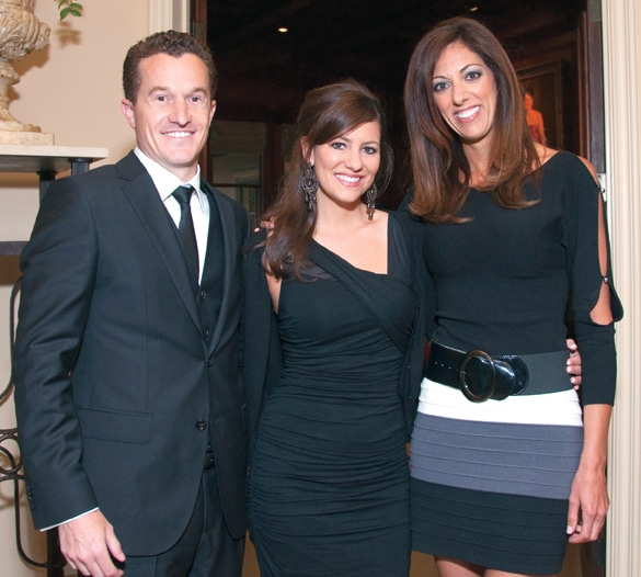 Scott Potter, Heidi Ortlip and Brooke Landau