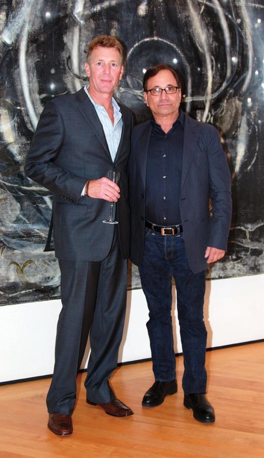 Scott White and Ross Bleckner