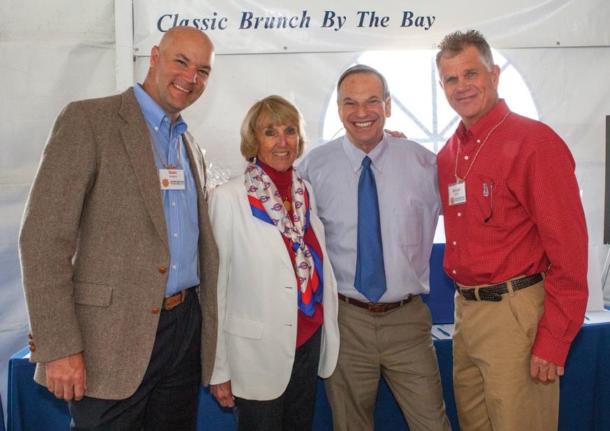 Sean Jenkins, Jane Fetter, Mayor Bob Filner and Michael Copley