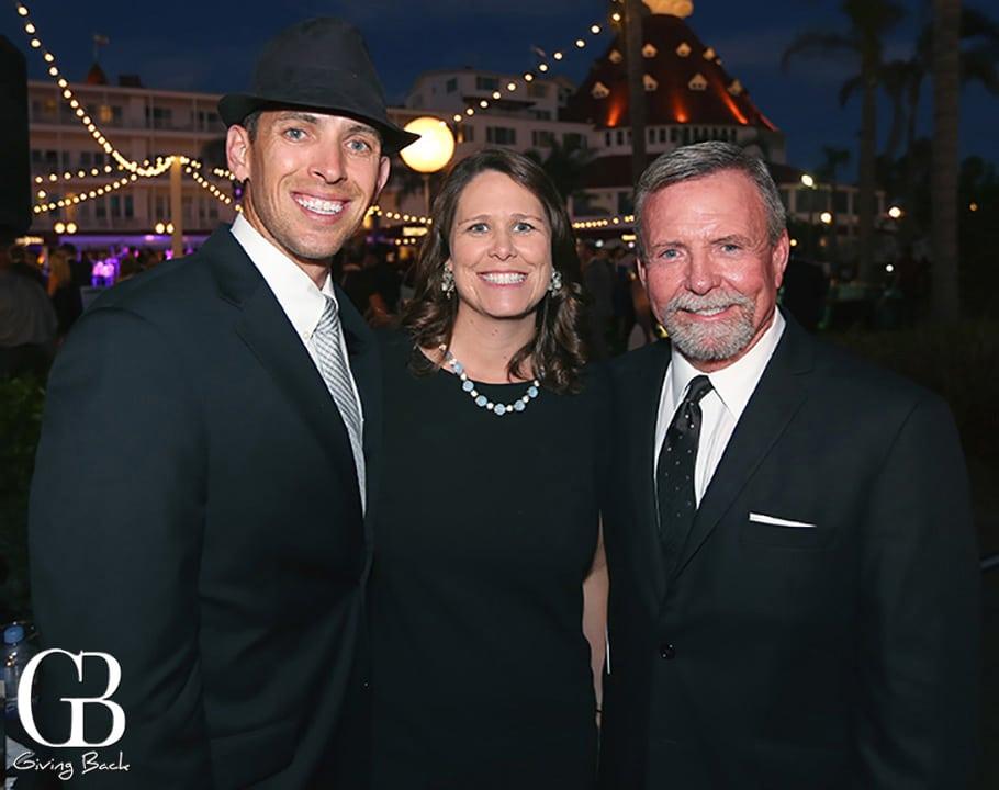 Sean and Maddy Kilkenny with Bob Morris