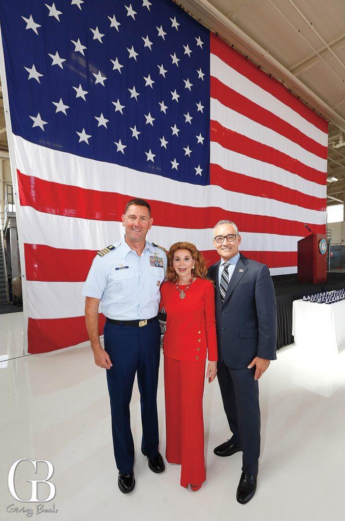 Sector Commander Joseph Buzzella  Reena Horowitz and Lorin Stuart