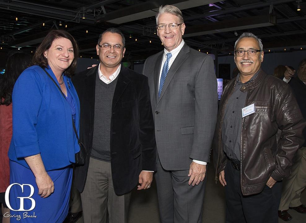 Senator Toni Atkins  Manuel Perez  Dan McCallister and Roberto Pozos