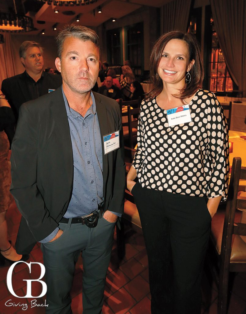Seth Schechter and Katie Baca Montes