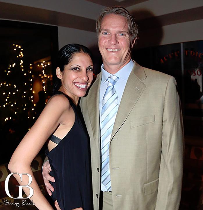 Shakha and Scott Gillin