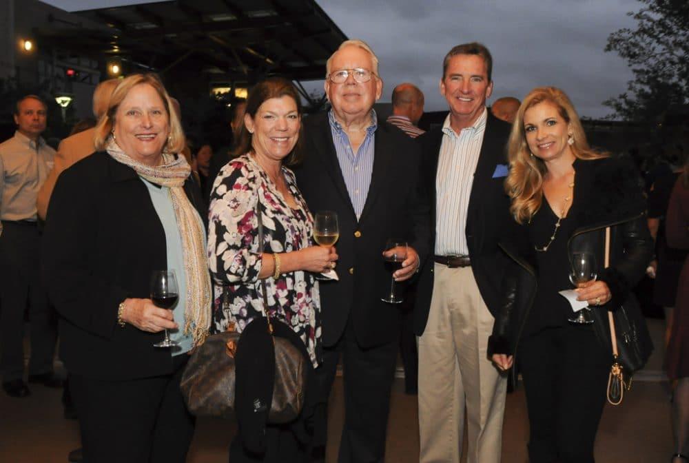 Sharon Beamer, Mary Alice Godfrey, Bill Beamer, David Dick and Nathalie Riis.JPG