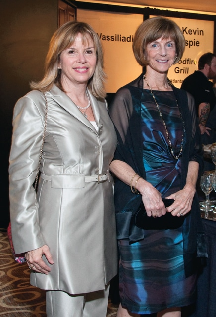 Sharon Massey and Jean Quinn