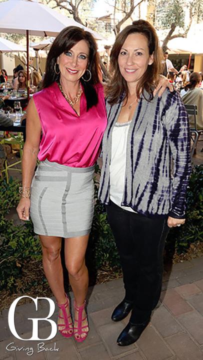 Sharon Sandorf and Michelle Marquand