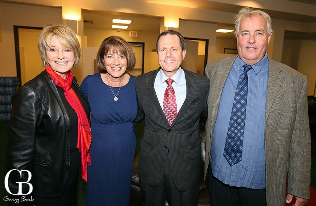 Sharon Smith  Congresswoman Susan Davis  Jon Berg Johnsen and Brad Norris