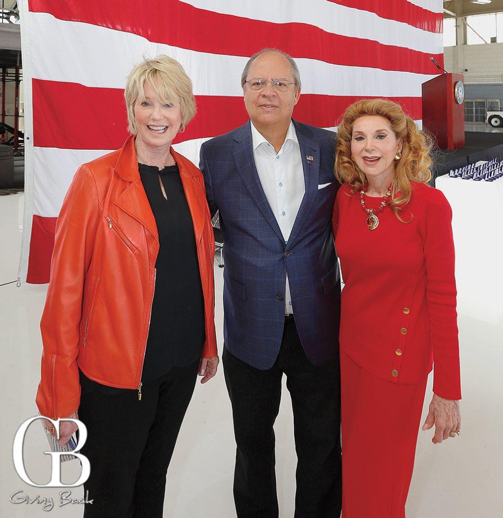 Sharon Smith  David Searle and Reena Horowitz