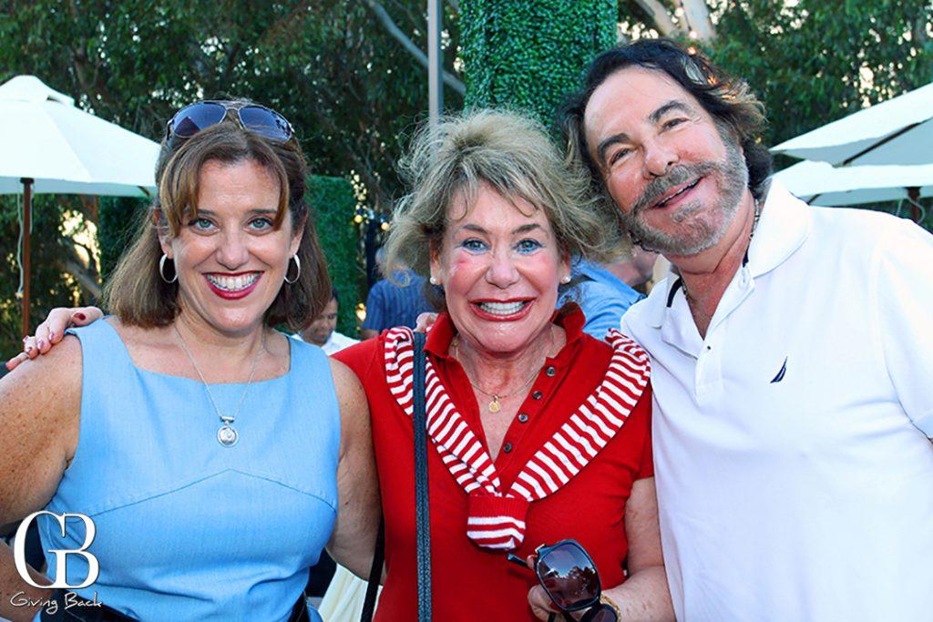 Sharon Wheatley with Barbara and Howard Milstein