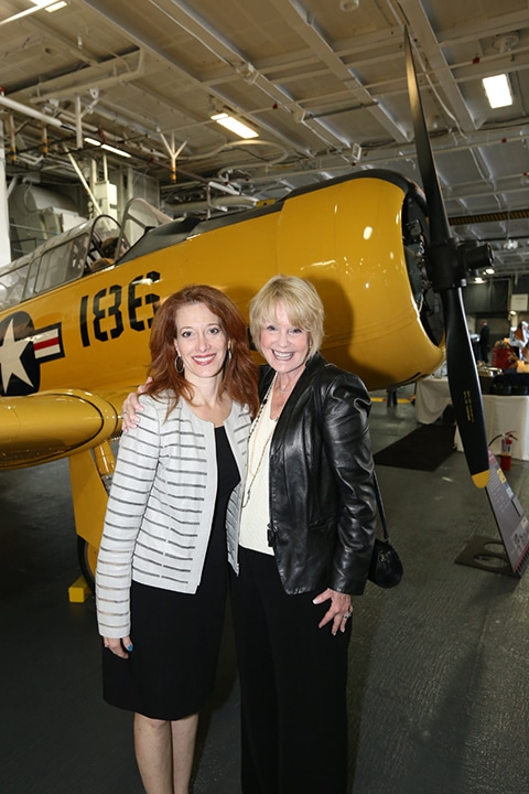 Sharyn Rosenblum and Sharon Smith