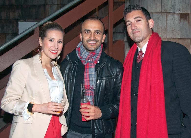 Sheena Howell, Babak Ariannejad and Ryan Farhood