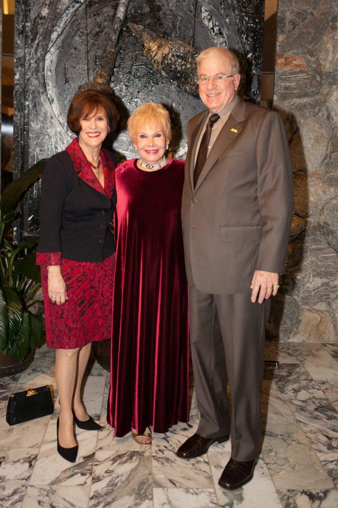 Sheila Lipinsky, Lee Goldberg and Jeffrey Lipinsky