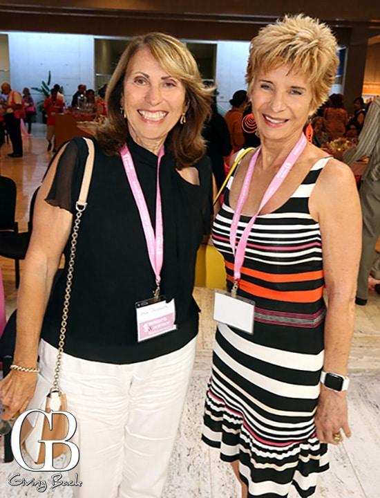 Sheila Dershowitz and Eleanor Shorter