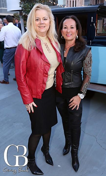 Sheila Fortune and Joan Waitt