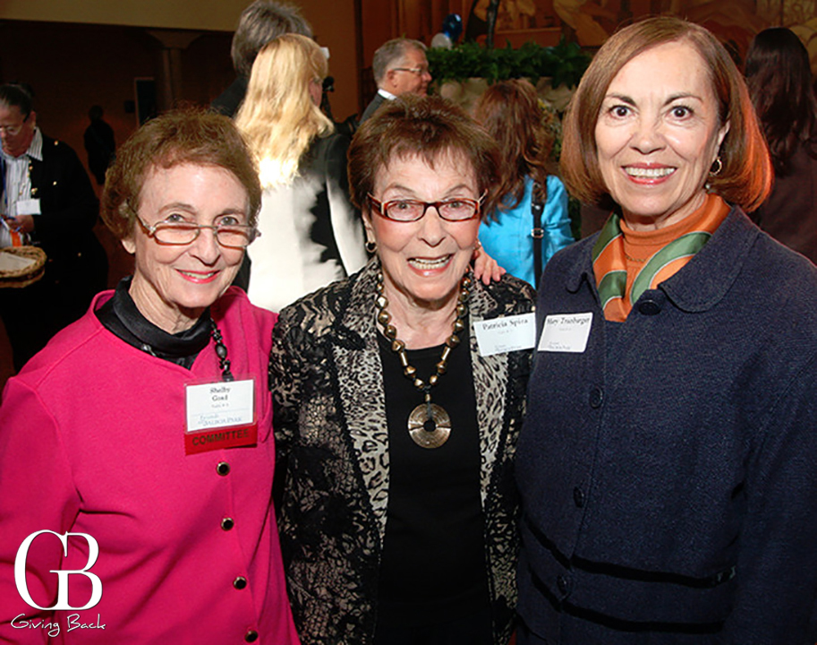 Shelby Goad  Patricia Spira and Mary Tranbarger