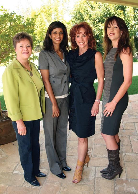 Shelia Chue, Angela Sharma, Colleen Clayton and Andrene Dziubinski +.JPG