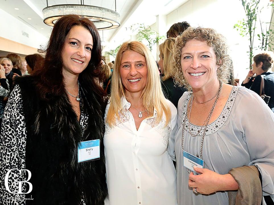 Shelley Sass  Jill Epstein and Vanessa Lurie