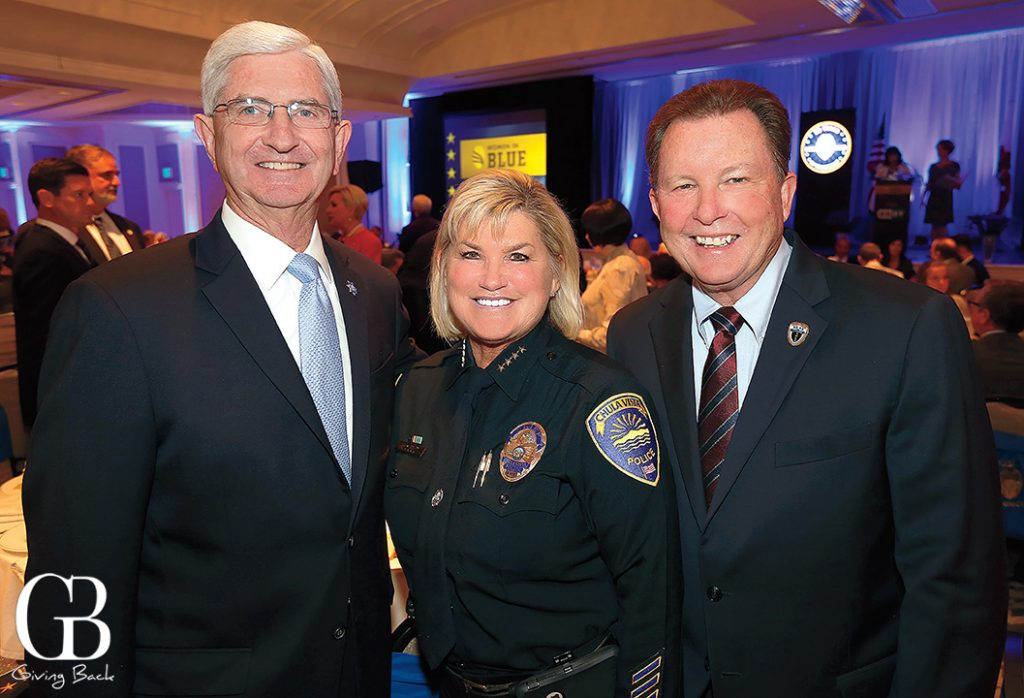 Sheriff Bill Gore  Chief of Chula Vista Police Roxana Kennedy and Guy Johnson