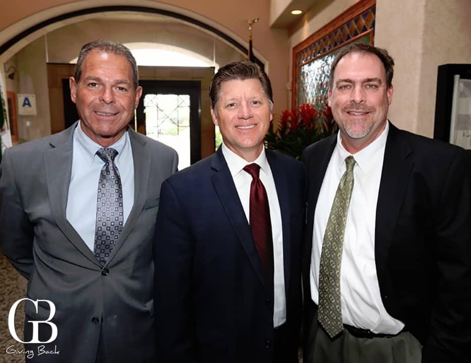 Sherman Stocker  Assemblyman Brian Jones and Doug Holman