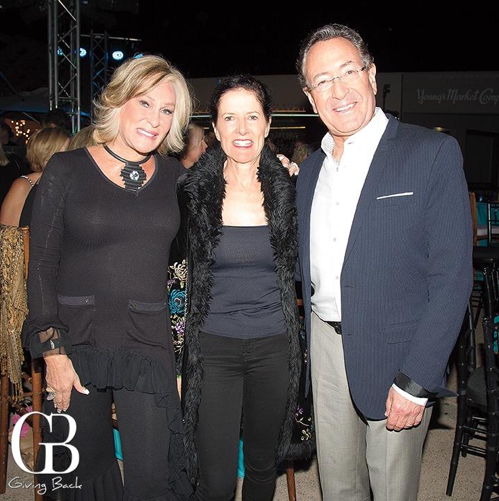 Sherry Ahern with Emily and Daniel Einhorn