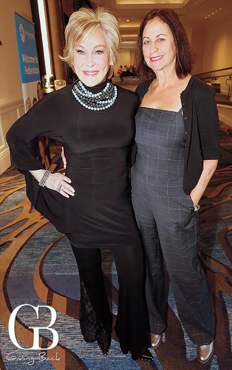 Sherry Berman Ahern and Leslie Wolf