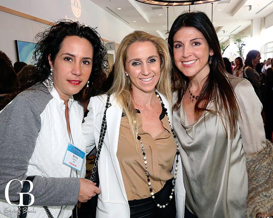 Shira Ladelsky  Alice Penhos and Gisele Buzali