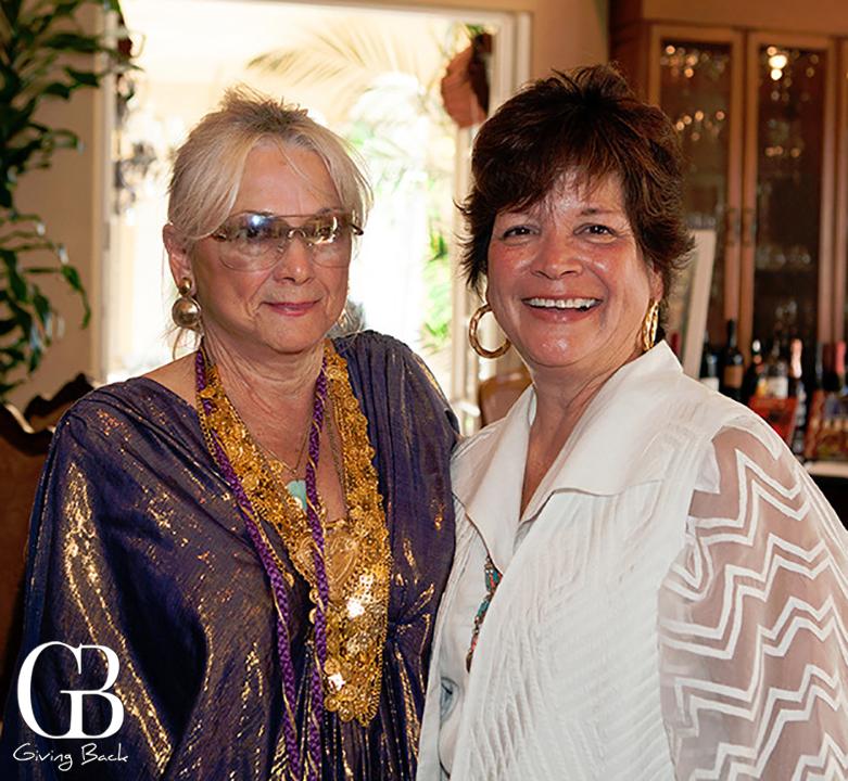 Shirley Becker and Sandra Chanis