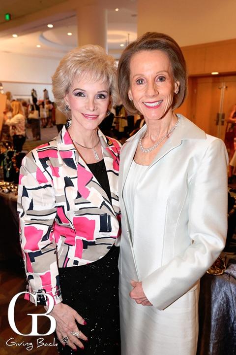 Shirley Hinckley and Joyce Dostart