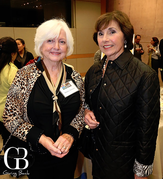 Shirley Stowers and Marjorie Kalmanson