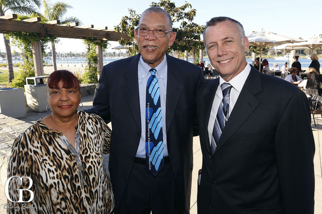 Shirley and Gerald McFadden with Marty Ellis