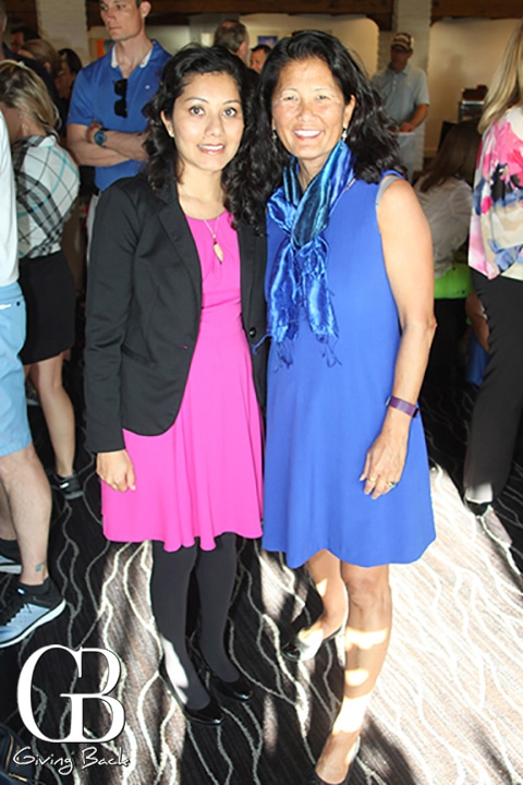 Shreya Sasaki and Nancy Sasaki