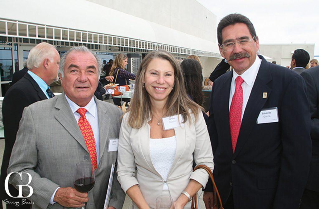 Sigfrido Pineda  Janice Deaton and Eduardo Gurria
