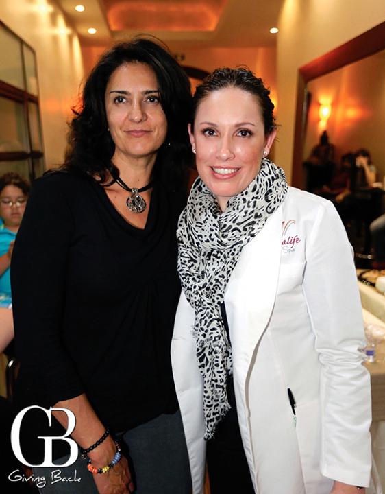 Silveria Basauri y Sandra Vasquez