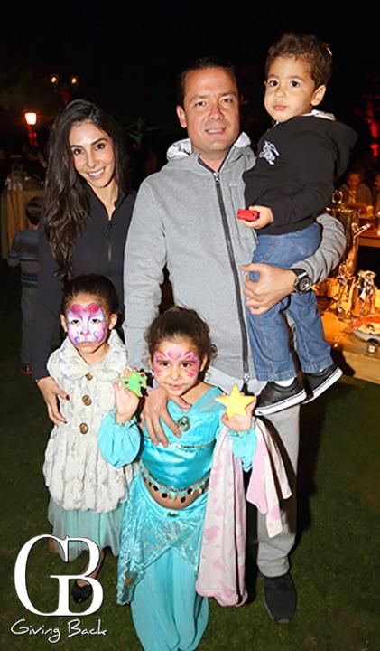 Silvia and Eduardo Riguero with Luna  Mia and Lalo
