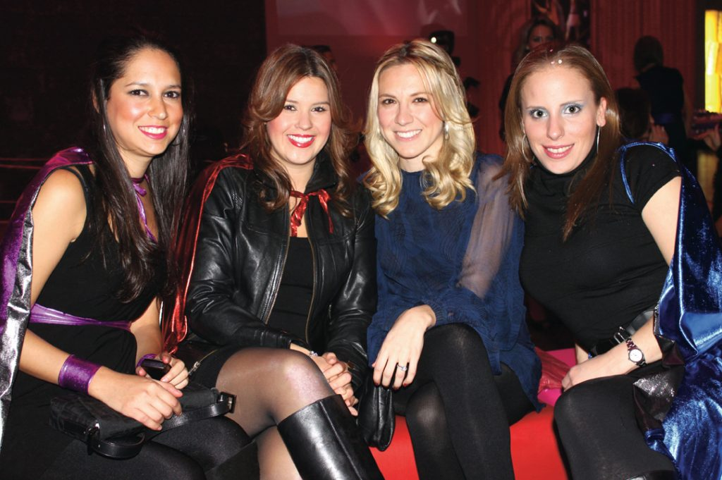Sofia Gonzalez, Marcela Rodriguez, Nayelli Serrano y Adriana Cuentas.JPG