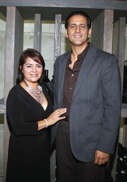 Sonia Gil y Alejandro Cruz